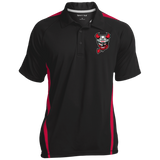 Binghamton Devils Men's Colorblock 3-Button Polo