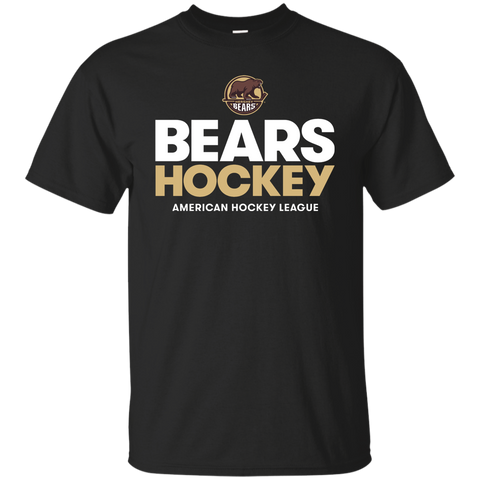 Hershey Bears Hockey Adult Short Sleeve Cotton T-Shirt