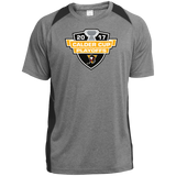 Wilkes-Barre/Scranton Penguins Adult 2017 Calder Cup Playoffs Heather Colorblock Poly T-Shirt