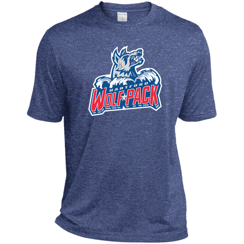 Hartford Wolf Pack Primary Logo Adult Heather Dri-Fit Moisture-Wicking T-Shirt