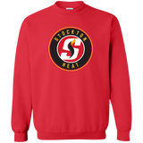 Stockton Heat Adult Primary Logo Crewneck Pullover Sweatshirt