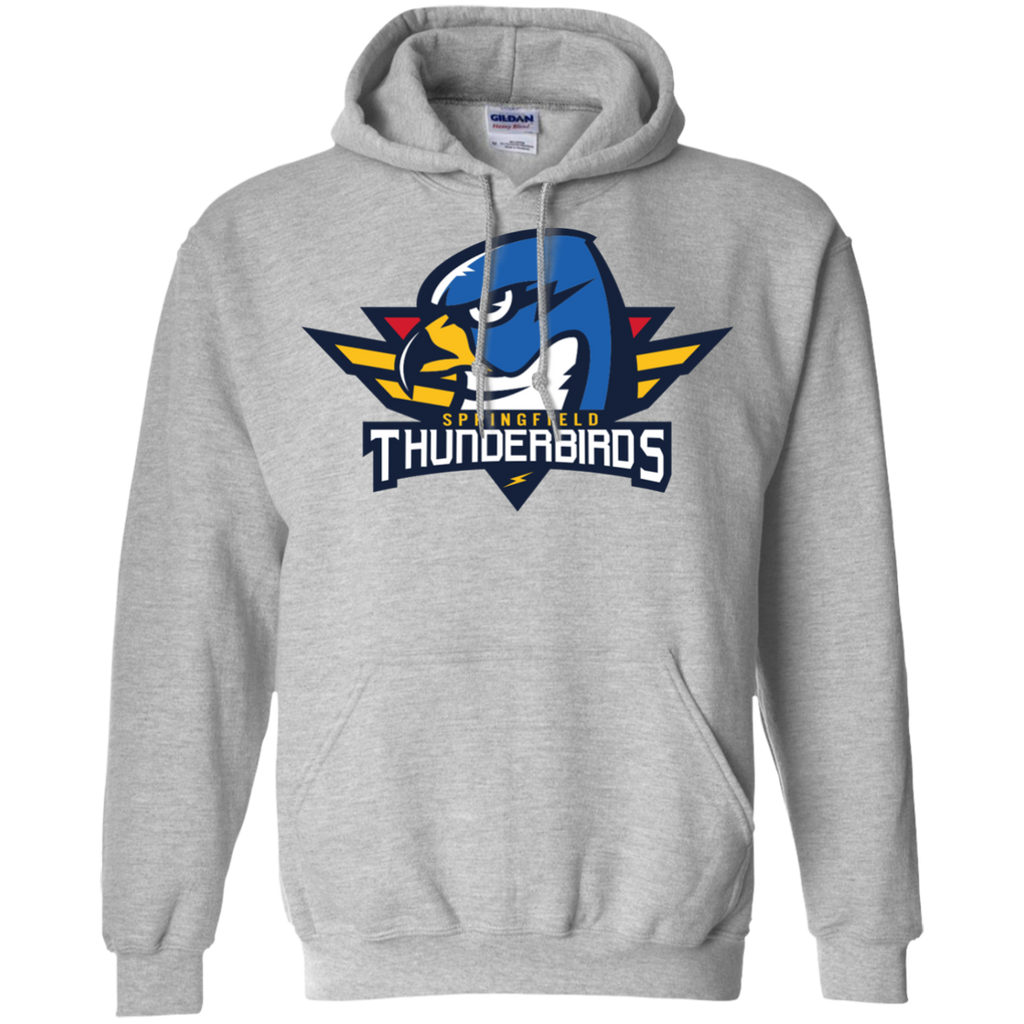Springfield Thunderbirds Primary Logo Adult Pullover Hoodie