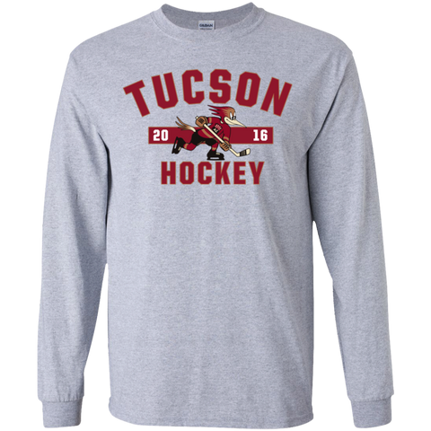 Tucson Roadrunners Youth Established Long Sleeve T-Shirt