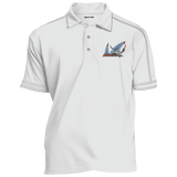 San Jose Barracuda Contrast Stitch Performance Polo