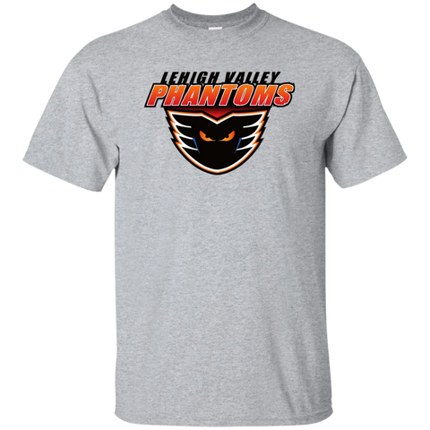 Lehigh Valley Phantons Primary Logo Adult Short Sleeve T-Shirt