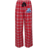 Hartford Wolf Pack Youth Custom Embroidered Flannel Pants