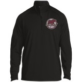 Hersey Bears Adult Half Zip Raglan Performance Pullover