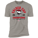 Charlotte Checkers 2019 Calder Cup Champions Next Level Premium Short Sleeve T-Shirt