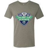 Utica Comets Adult 2018 Calder Cup Playoffs Next Level Men's Triblend T-Shirt