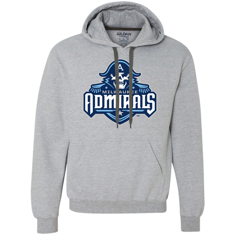 Milwaukee Admirals Primary Logo Heavyweight Pullover Fleece Sweatshirt