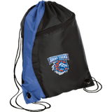 Bridgeport Sound Tigers Colorblock Cinch Pack