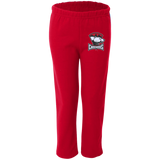 Charlotte Checkers Youth Open Bottom Sweatpants