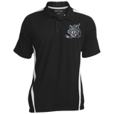 Chicago Wolves Mens Custom Colorblock 3-Button Polo