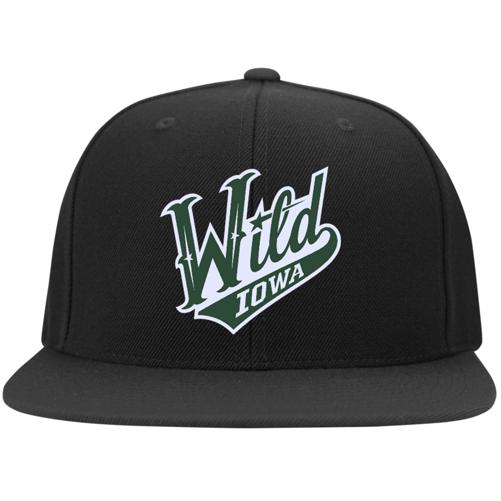 Iowa Wild Flat Bill High-Profile Snapback Hat