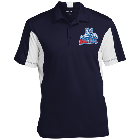 Hartford Wolf Pack Men's Colorblock Performance Polo