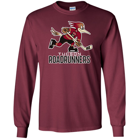 Tucson Roadrunners Primary Logo Long Sleeve T-Shirt