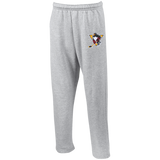 Wilkes-Barre/Scranton Penguins Adult Open Bottom Sweatpants with Pockets