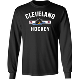 Cleveland Monsters Adult Established Long Sleeve Cotton T-Shirt