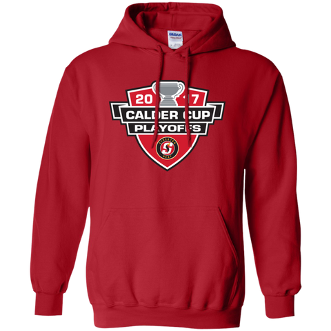 Stockton Heat Adult 2017 Calder Cup Playoffs Pullover Hoodie