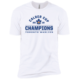 Toronto Marlies 2018 Calder Cup Champions Adult Arch Next Level Premium Short Sleeve T-Shirt