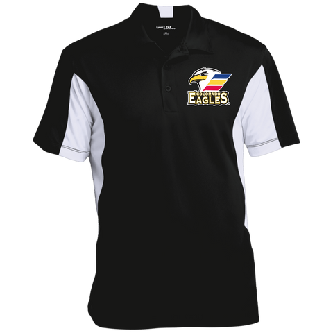 Colorado Eagles Men's Colorblock Performance Polo