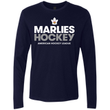 Toronto Marlies Hockey Next Level Men's Premium Long Sleeve T-Shirt