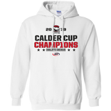 Charlotte Checkers 2019 Calder Cup Champions Adult Stacked Pullover Hoodie