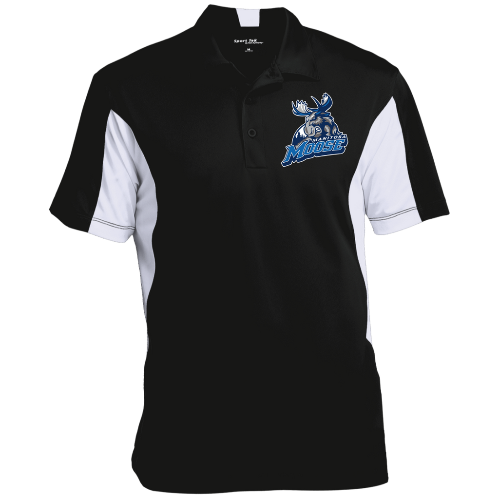 Manitoba Moose Men's Colorblock Performance Polo