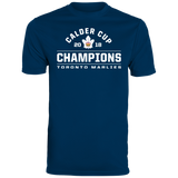 Toronto Marlies 2018 Calder Cup Champions Arch Men's Wicking T-Shirt