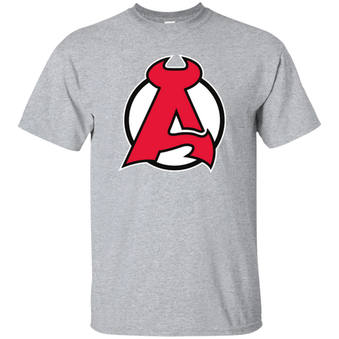 Albany Devils Primary Logo Youth Short Sleeve T-Shirt