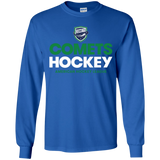 Utica Comets Hockey Youth Long Sleeve T-Shirt