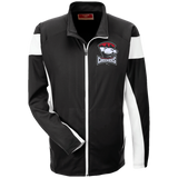 Charlotte Checkers Team 365 Performance Colorblock Full Zip