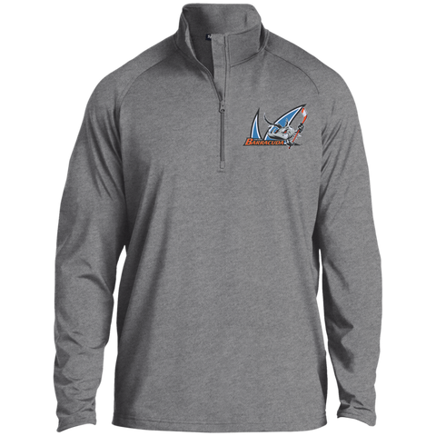 San Jose Barracuda Half Zip Raglan Performance Pullover