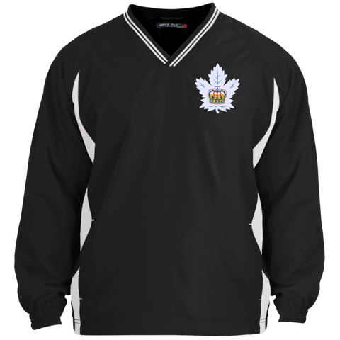 Toronto Marlies Adult Tipped VNeck Wind Shirt