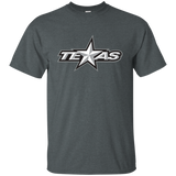Texas Stars Primary Logo Adult Short Sleeve T-Shirt