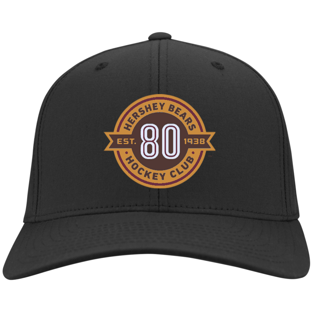 Hershey Bears 80th Anniversary Flex Fit Twill Baseball Cap