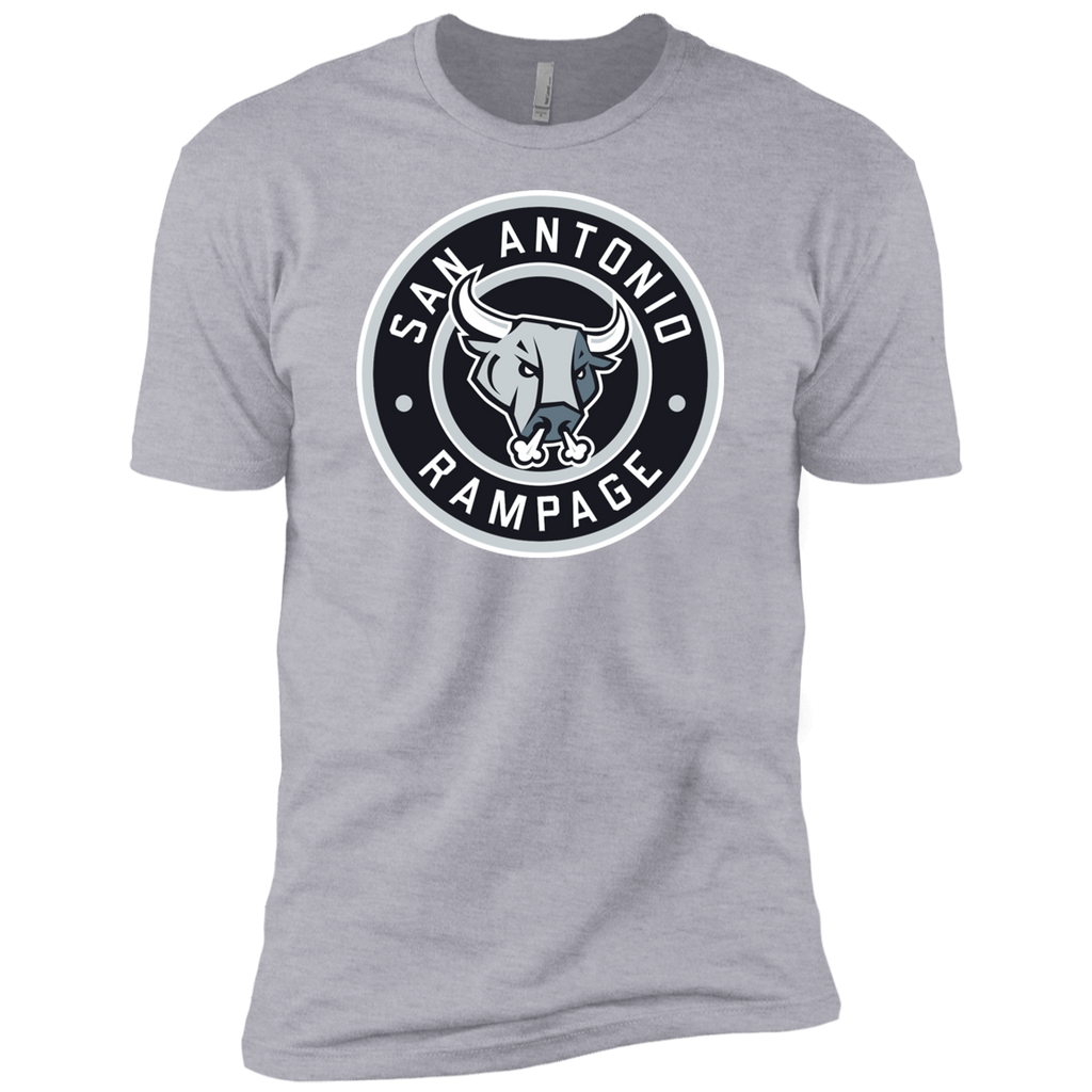 San Antonio Rampage Circle Logo Adult Next Level Premium Short Sleeve T-Shirt