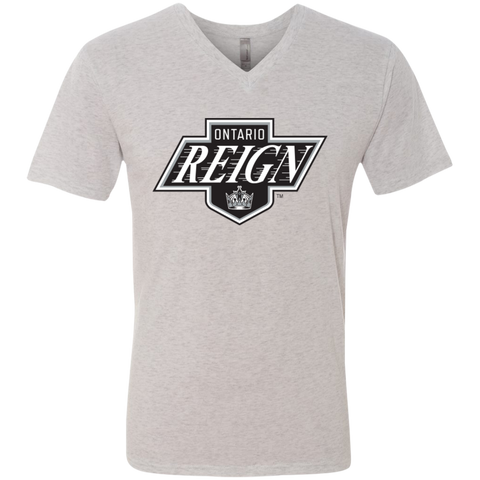 Ontario Reign Men's Next Level Triblend V-Neck T-Shirt
