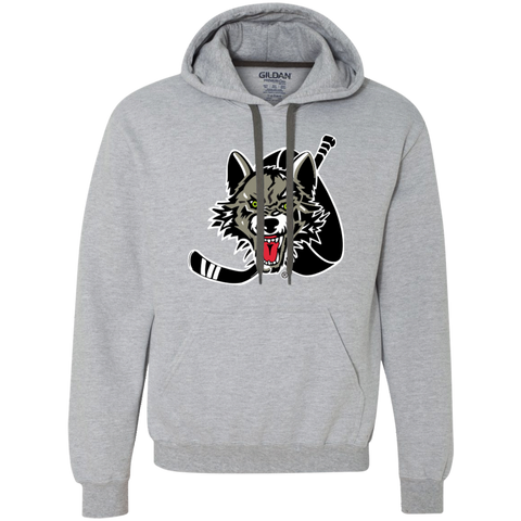 Chicago Wolves Adult Heavyweight Pullover Fleece Sweatshirt