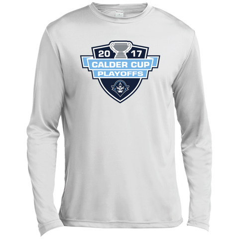 Milwaukee Admirals Adult 2017 Calder Cup Playoffs Long Sleeve Moisture Absorbing Shirt