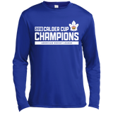 Toronto Marlies 2018 Calder Cup Champions Adult Raise the Bar Long Sleeve Moisture Absorbing T-Shirt