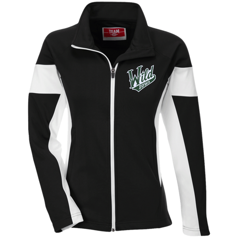 Iowa Wild Team 365 Ladies Performance Colorblock Full Zip