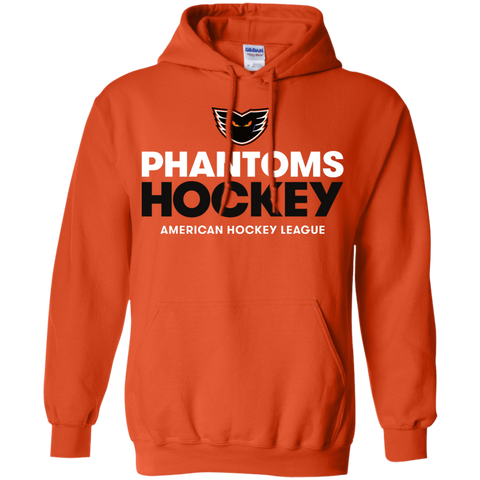 Lehigh Valley Phantoms Hockey Adult Pullover Hoodie -  Orange