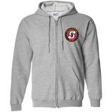 Stockton Heat Adult Embroidered Zip Up Hooded Sweatshirt
