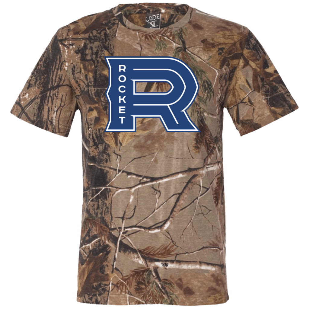 Laval Rocket Adult Short Sleeve Camouflage T-Shirt