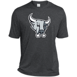 San Antonio Rampage Primary Logo Heather Dri-Fit Moisture-Wicking T-Shirt