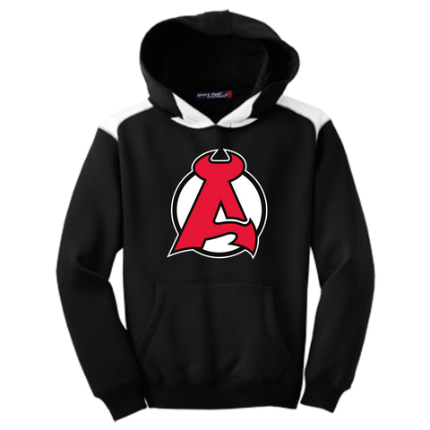 Albany Devils Youth Colorblock Pullover Hoodie
