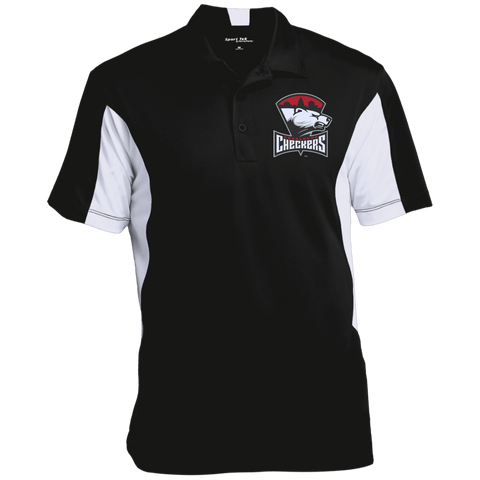 Charlotte Checkers Men's Colorblock Performance Polo