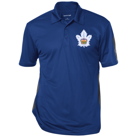 Toronto Marlies Adult Performance Textured Three-Button Polo