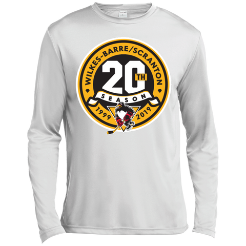 Wilkes-Barre/Scranton Penguins 20th Anniversary Long Sleeve Moisture Absorbing T-Shirt